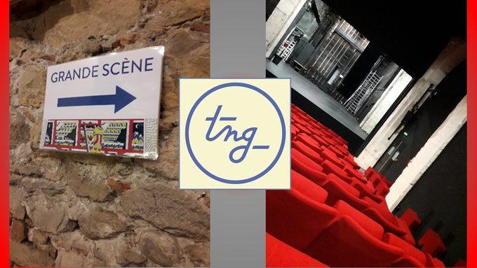 Visite TNG Option théâtre Lycée Lacassagne